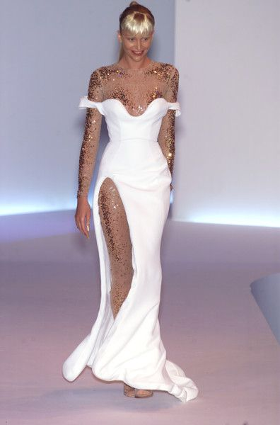 Thierry Mugler Spring 2001 Runway Pictures In 2019