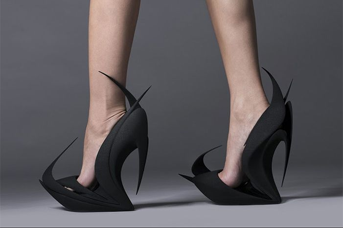 3d Printed Shoes By Zaha Hadid And More Famous Designers Heels