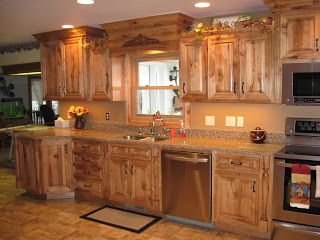 Construction Rustic Maple Kitchen