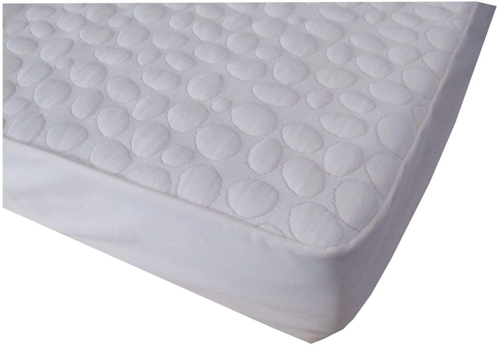 organic mattress deluxe amazon pad quilted com naturepedic dp cotton crib baby