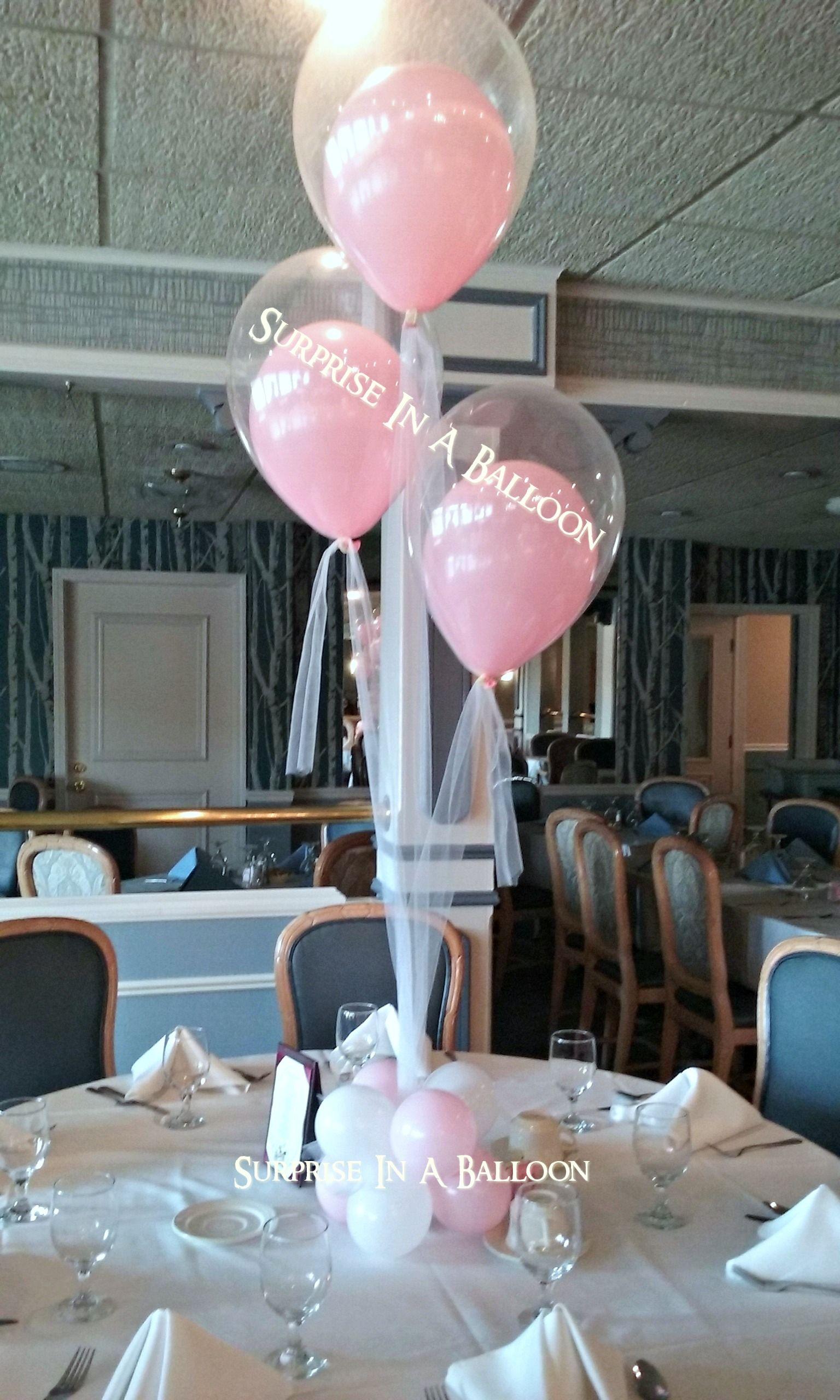 #elegant stuff balloon with tulle# #surprise in a balloon#
