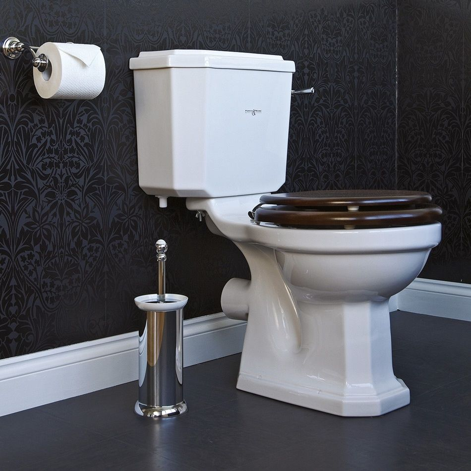 Perrin and Rowe Deco Close Coupled WC Set 2935 & 2936 from www ...