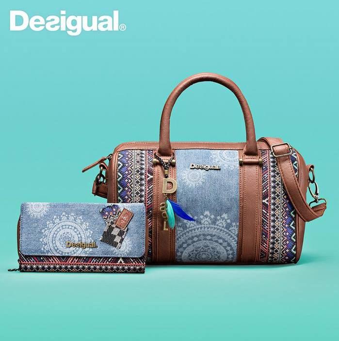 Desigual bag Malta African Art | Desigual taschen, Taschen