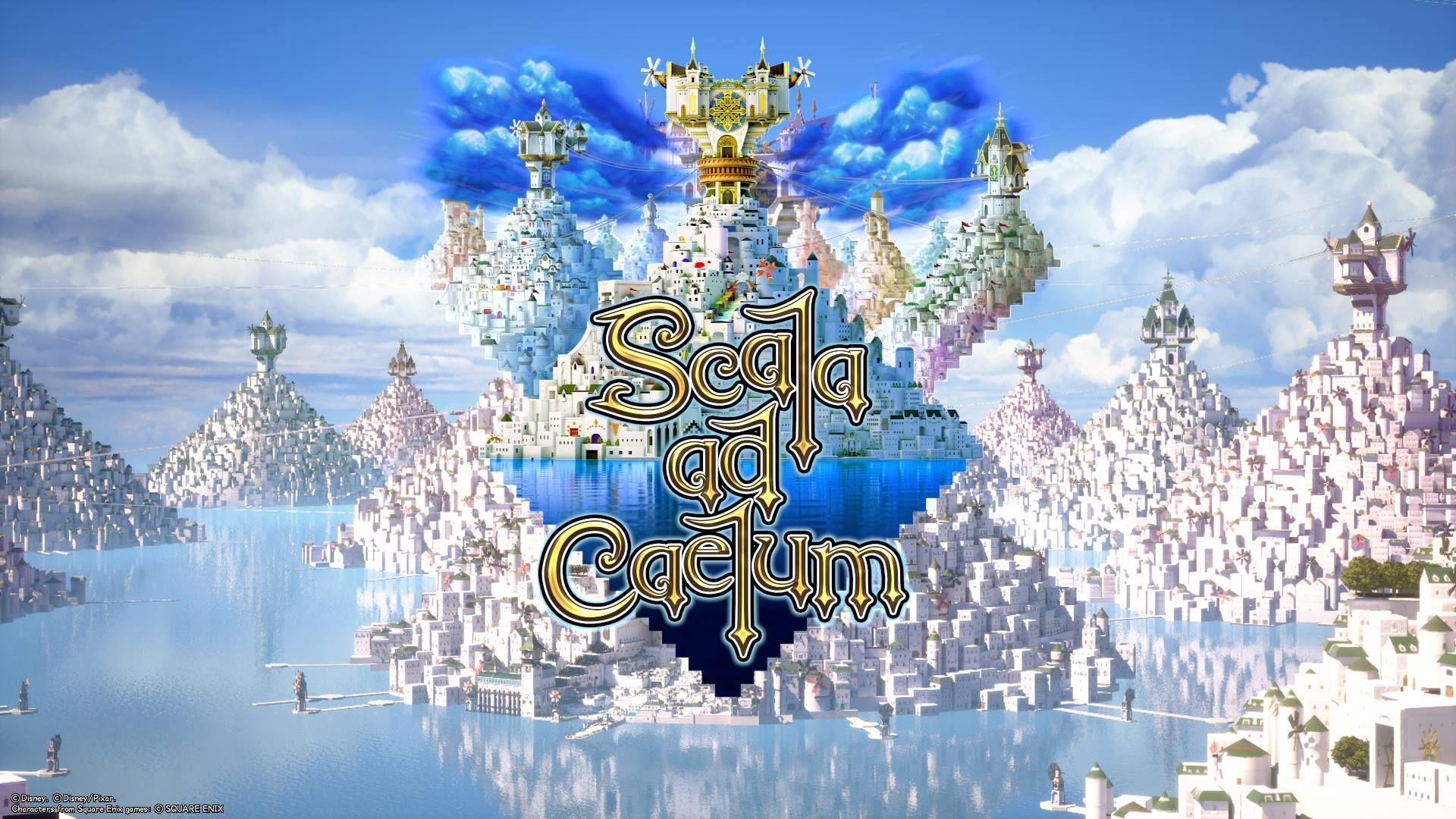 Image Result For Scala Ad Caelum Kingdom Hearts 4k Desktop Wallpapers Desktop Wallpaper