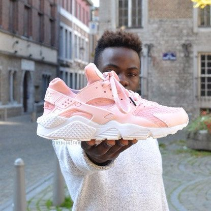 Baby Pink Rose Nike Air Huarache Rosa Nike Huarache by JKLcustoms ... 193b03643