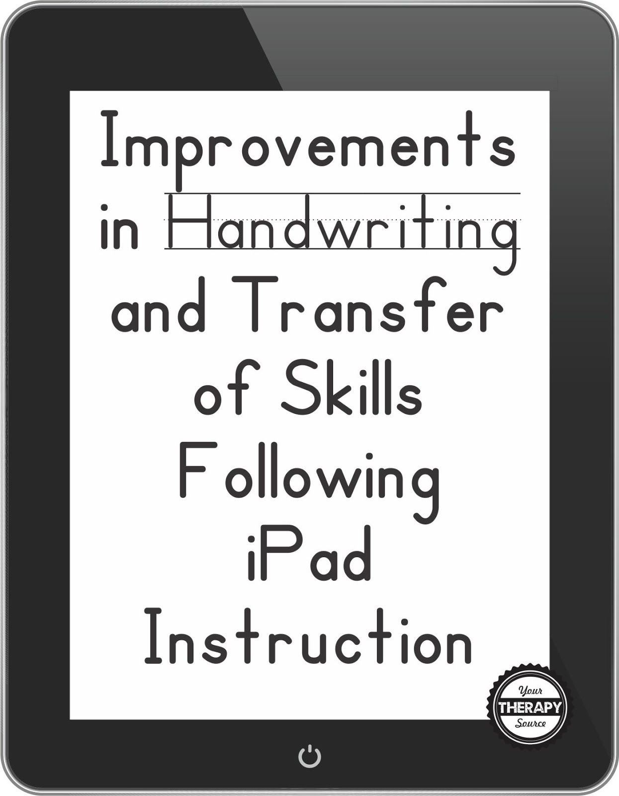 Improvements In Handwriting And Transfer Of Skills