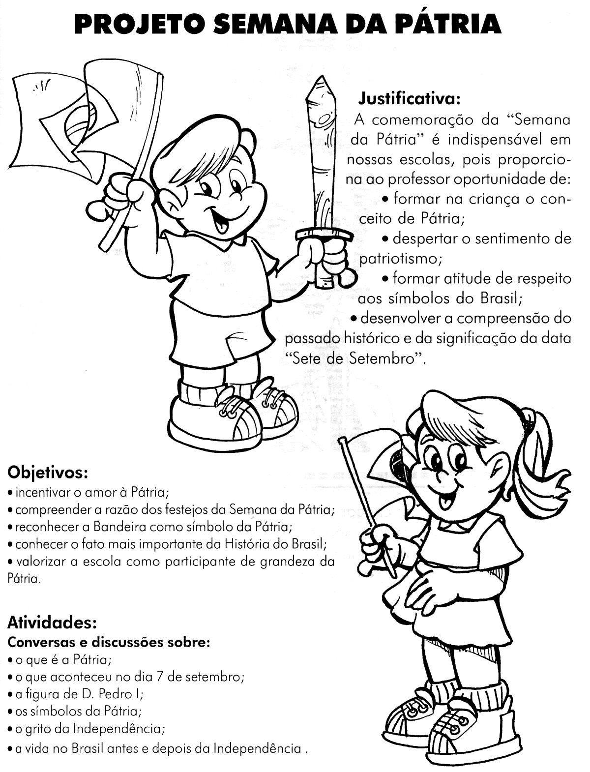 Imagem Relacionada Semana Da Patria Atividades Para Educacao
