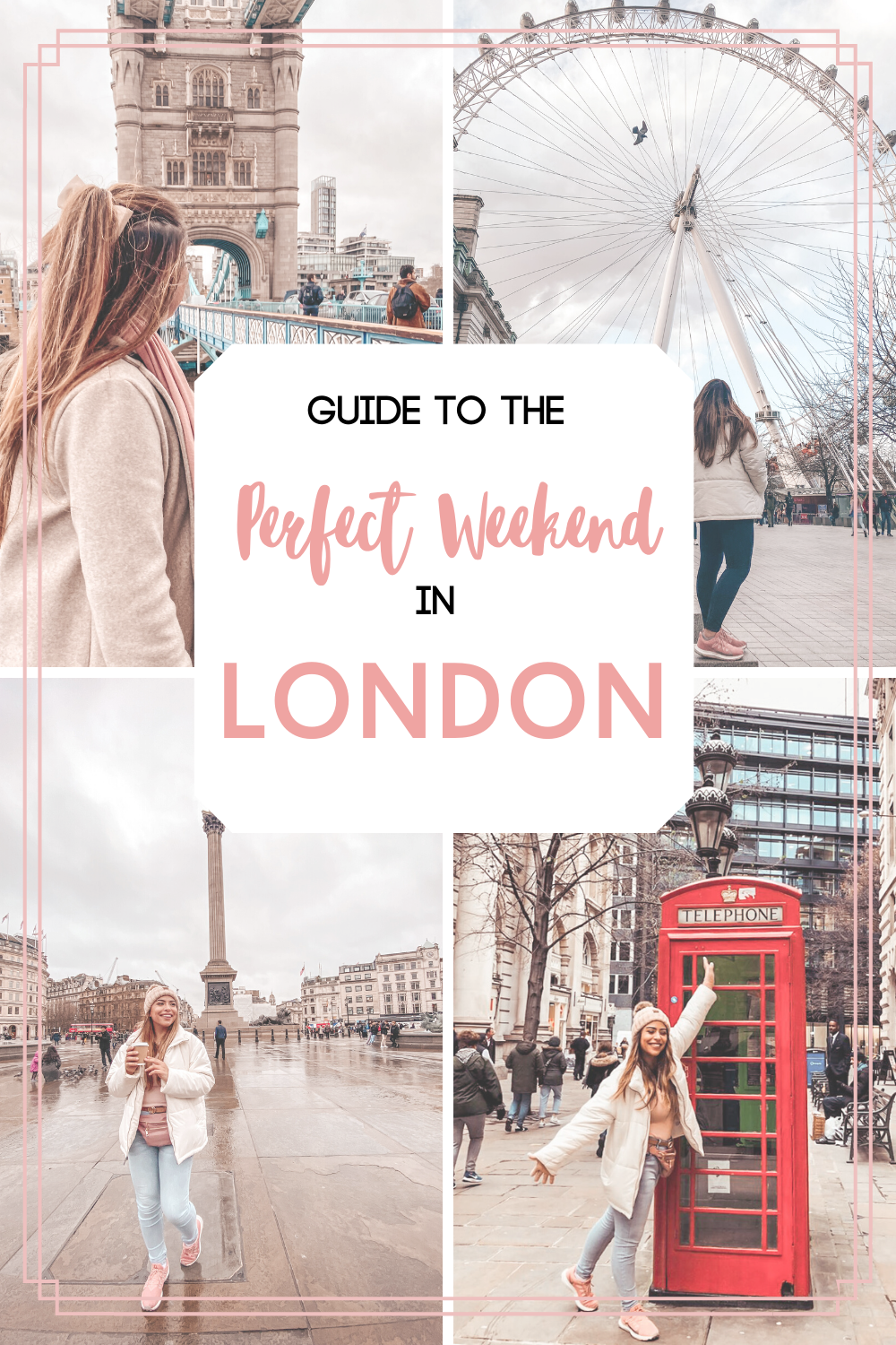 Guide to the Perfect Weekend in London! A magical city with endless activities, great culinary scene, and awesome nightlife. 3 day itinerary to London, perfect for short trips! #travelguide #travellondon #visitlondon