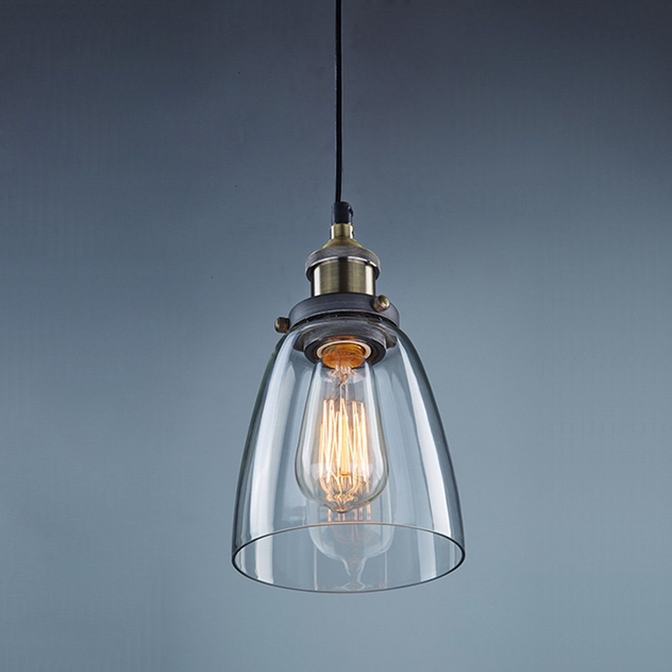 Https Www Amazon De Claxy Deckenleuchte Pendelleuchte Vintage Design Industrie Look Dp B01cjl52yq Hangelampe Glas Pendelleuchte Lampe