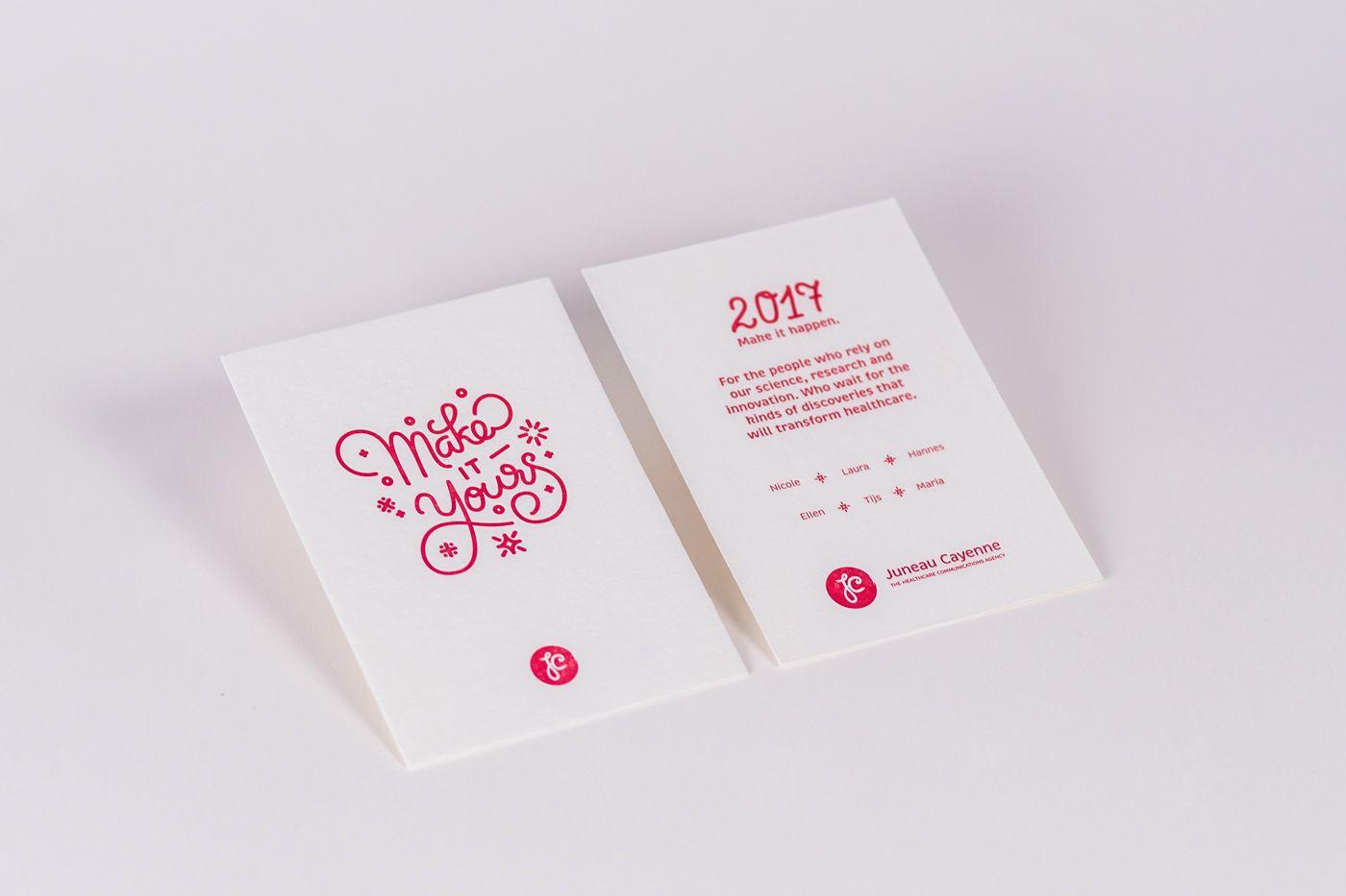 Monoline Lettering Print Postcard Graphic Design Typography