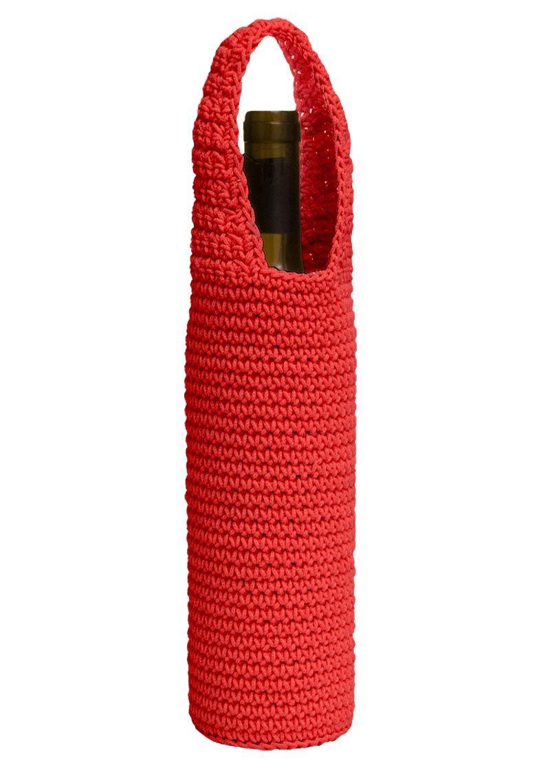 Mode Crochet Wine Bottle Wrap Heritage Lace Crochet Bag Wrapped Wine Bottles Crochet Handbags