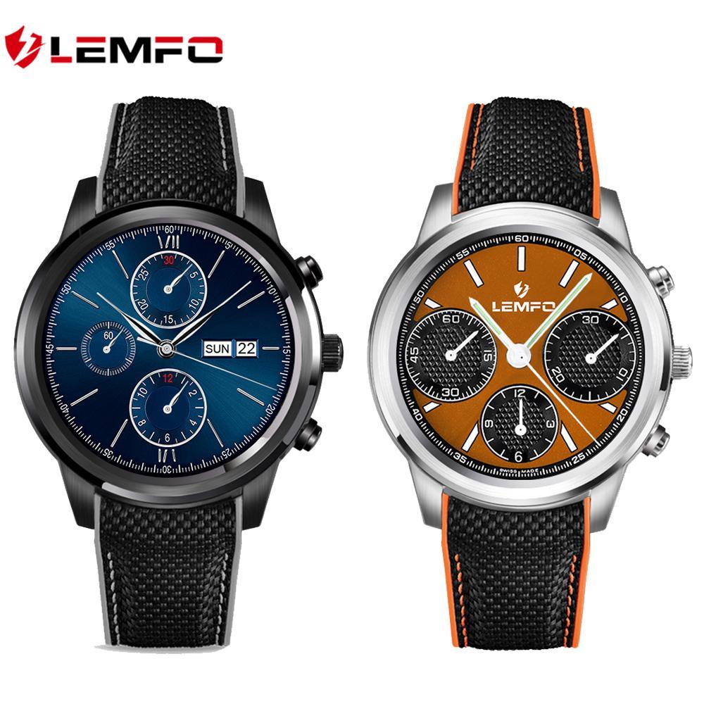 """Lemfo LEM5 Smart Watch Android 5.1 OS 1.39"""" IPS OLED"""