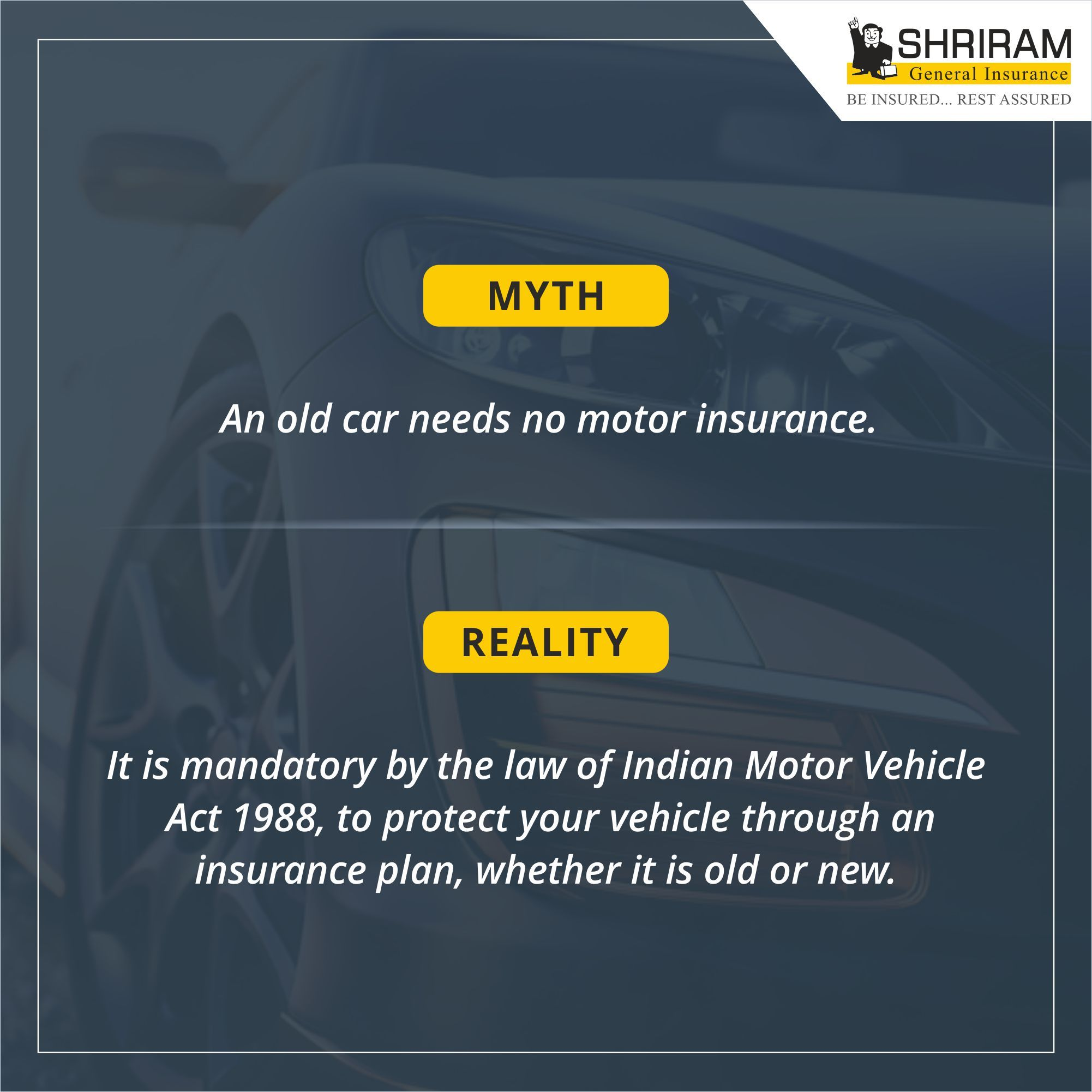 Insurance Myths Vs Reality Car Insurance Insurance Compare Quotes