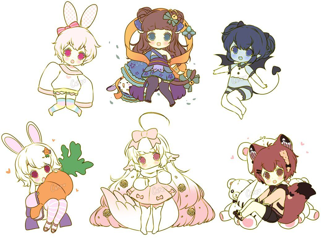 Chibi Sketch Batch 8 by on