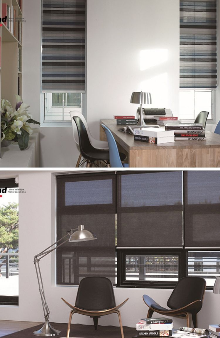 20 Trendy Ideas For A Home Office With Skylights: Office Curtains-home Office Curtain-modern Office Curtain