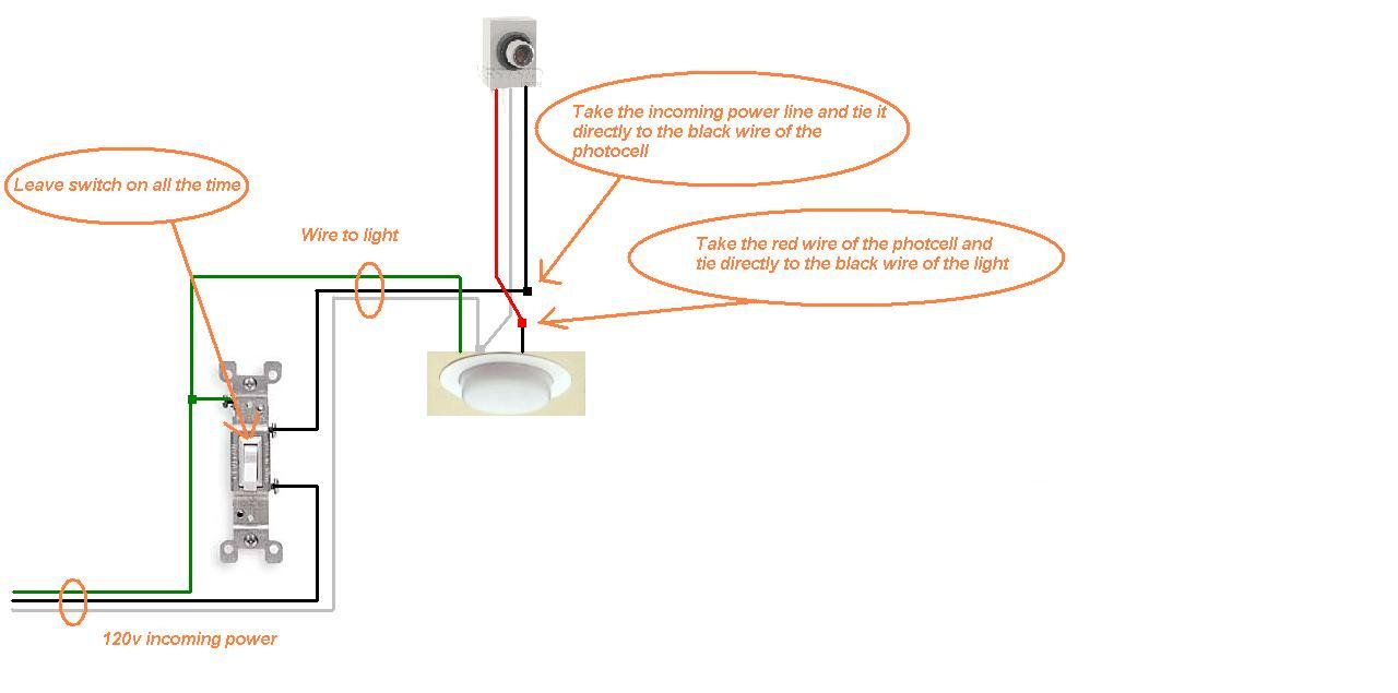 How To Install Light Sensor On Outdoor Light Interior Paint Color Trends Check More At Http Www Mtbasics Light Sensor Trailer Light Wiring Outdoor Lighting