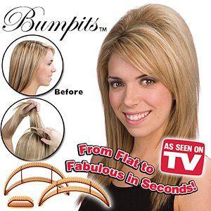 Light Brown Bumpits Hair Volumizing From Flat to Fabulous