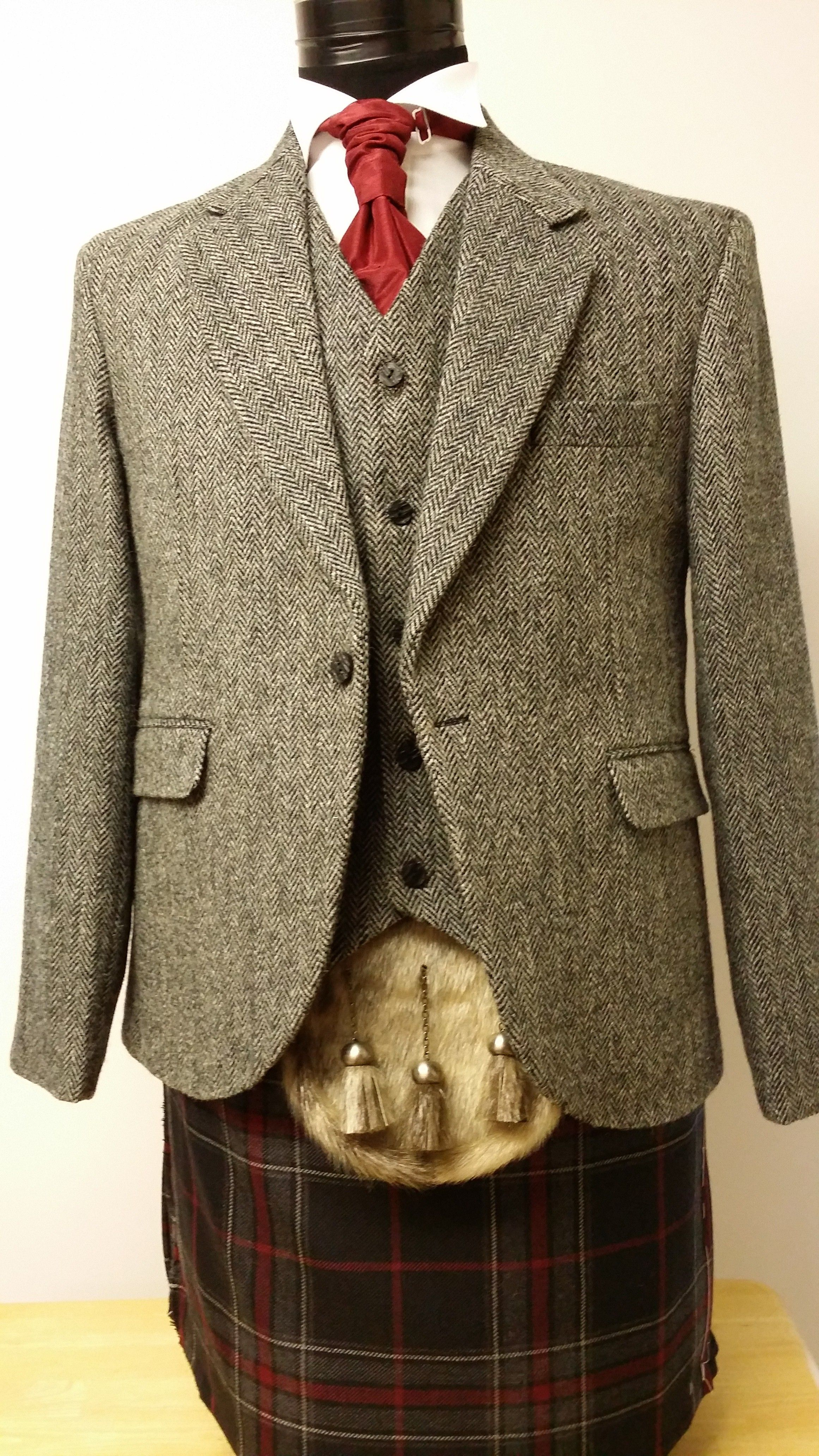 Harris Tweed Day Jacket Set Harris Tweed Jackets Kilts