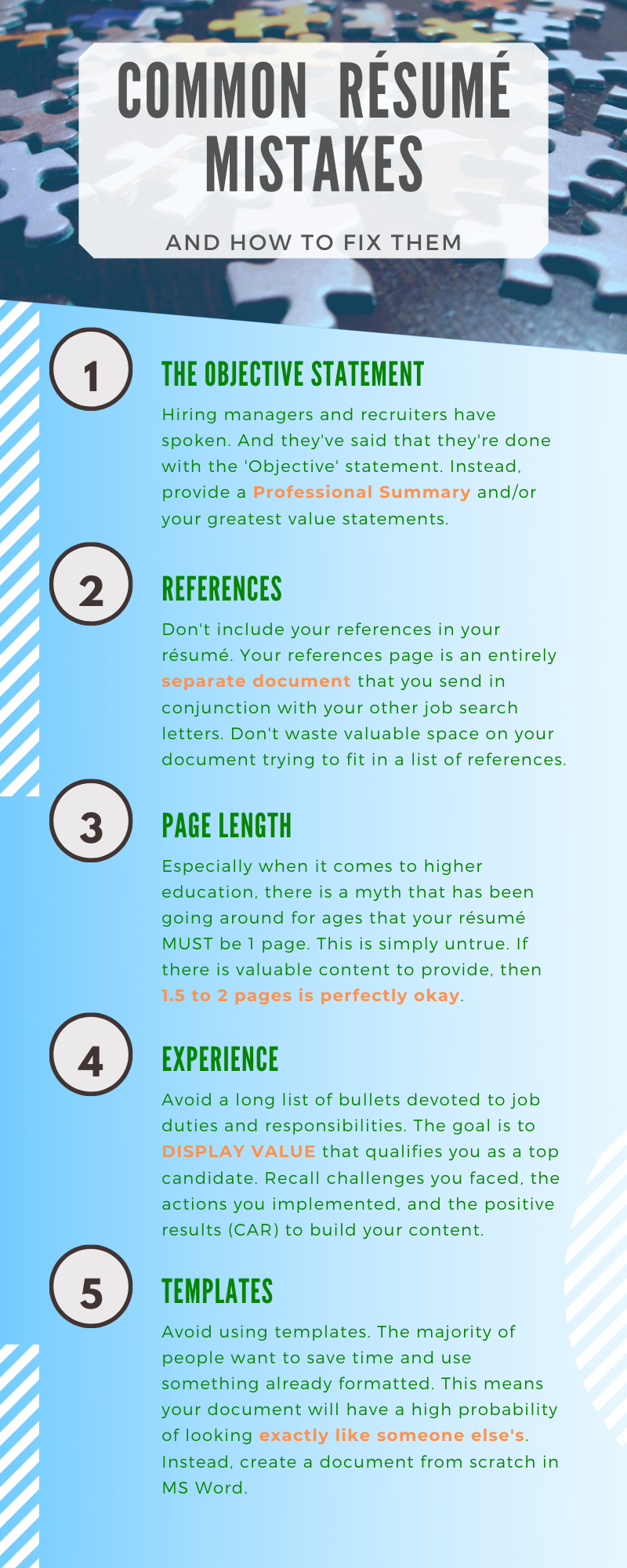 Common Resume Mistakes Resume Writing Tips Resume Tips Resume Writing