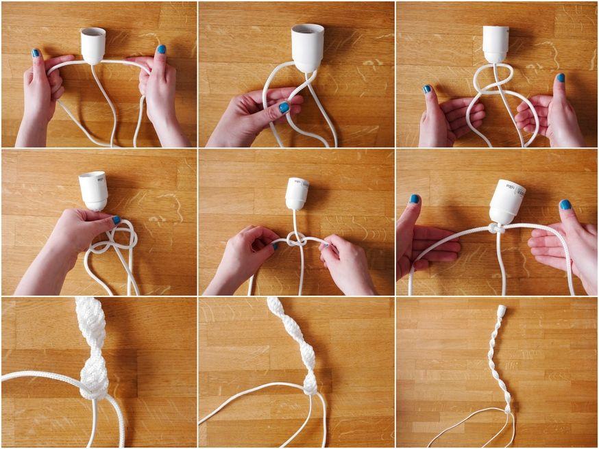 Tutoriel Diy Comment Fabriquer Des Lampes A Suspendre 18h39 Fr Comment Fabriquer Un Fabriquer Une Lampe Tutoriel Diy