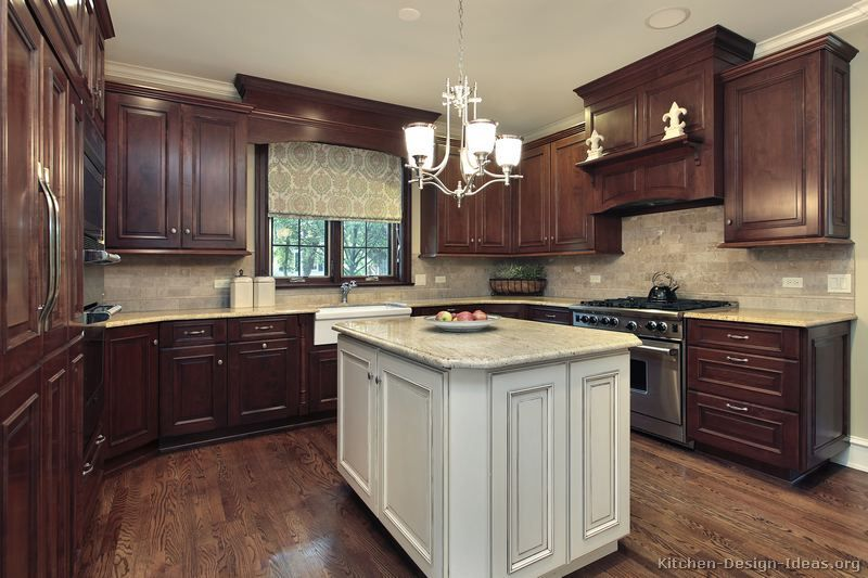 Two Tone Kitchen Cabinet With Lovely Design Ideas Movin On Up