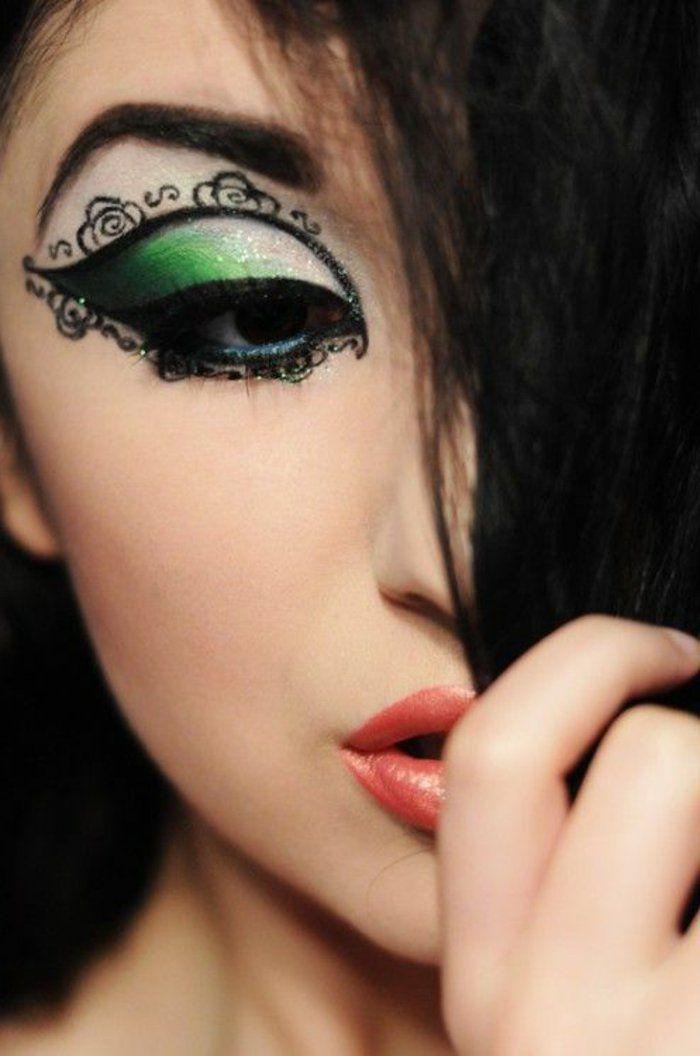 Top Le meilleur maquillage artistique dans 43 images!   Maquillage  QS71