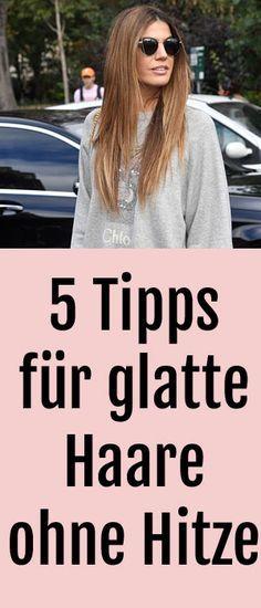 Glatte Haare Ohne Glatteisen 5 Tipps Fur Glattere Haare Ohne Hitze