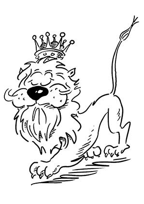 ausmalbilder löwe kostenlos - my blog