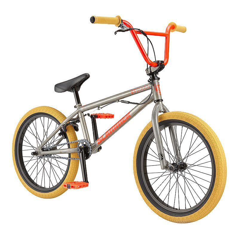 Gt Slammer Men S Bmx Bike 2019 Raw Bmx Bikes Gt Bmx Bmx