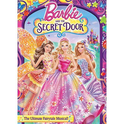 Barbie The Secret Door Dvd Universal Studios Toys R