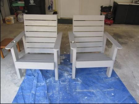 Outdoor patio deck chairs do it yourself home projects from ana outdoor patio deck chairs do it yourself home projects from ana white solutioingenieria Images