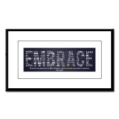 Embrace Diversity Small Framed Print