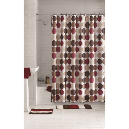 Mainstays 15 Piece Bathroom Sets Walmart Com Bathroom Sets