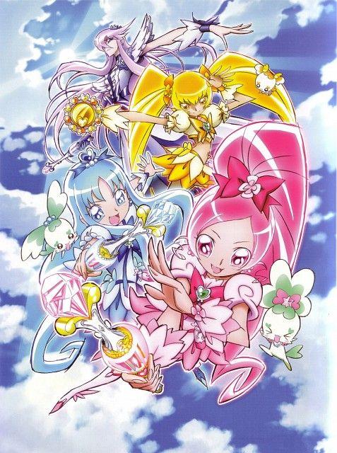 heartcatch precure pretty cure smile pretty cure magical girl anime