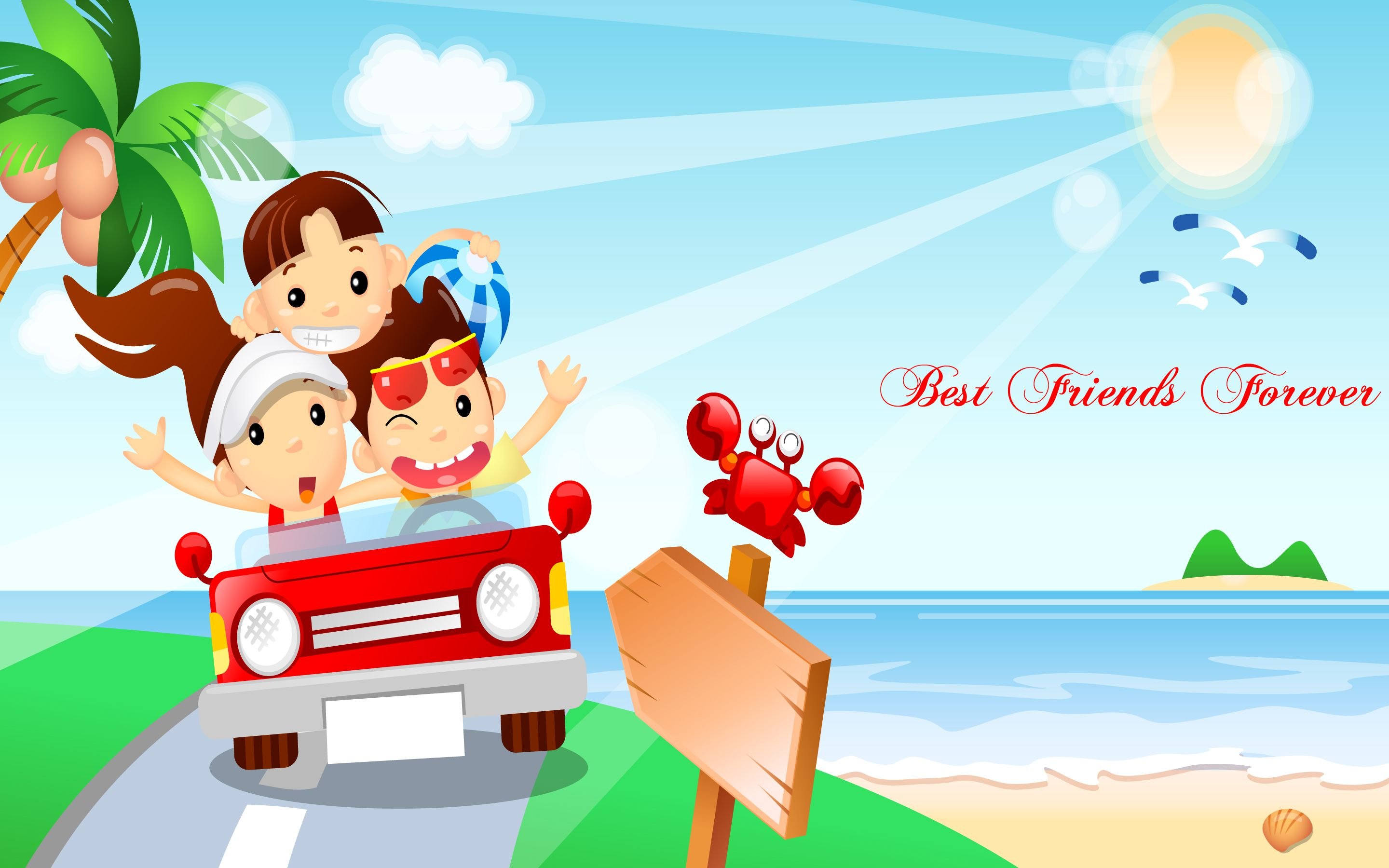 Best Friends Forever HD Wallpapers Happy, Friendship day, Friends