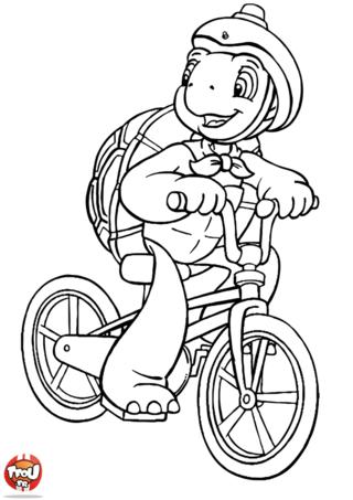 Coloriage franklin en v lo coloriages coloriage coloriage enfant et dessin - Coloriage petit spiderman ...