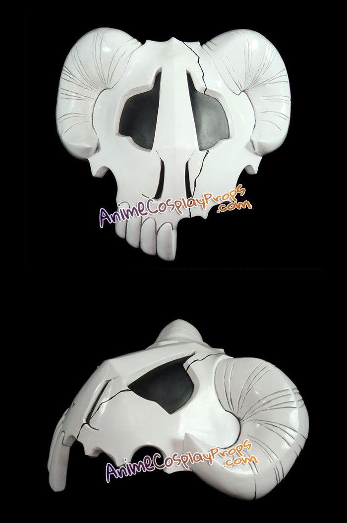 Nelliel Tu Odelschwanck Hollow cosplay mask katana costume from Bleach anime