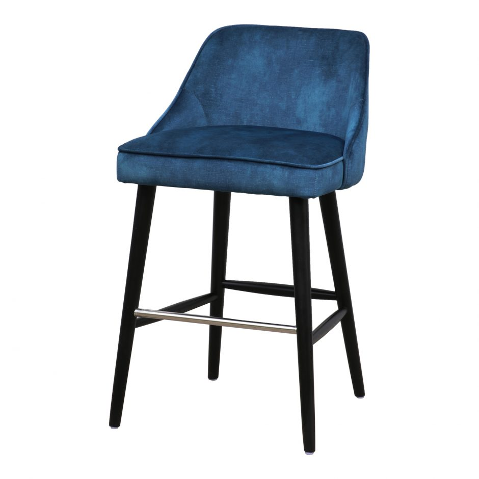 Harmony Counter Stool Navy Blue In 2020 Counter Stools Modern Counter Stools Stool