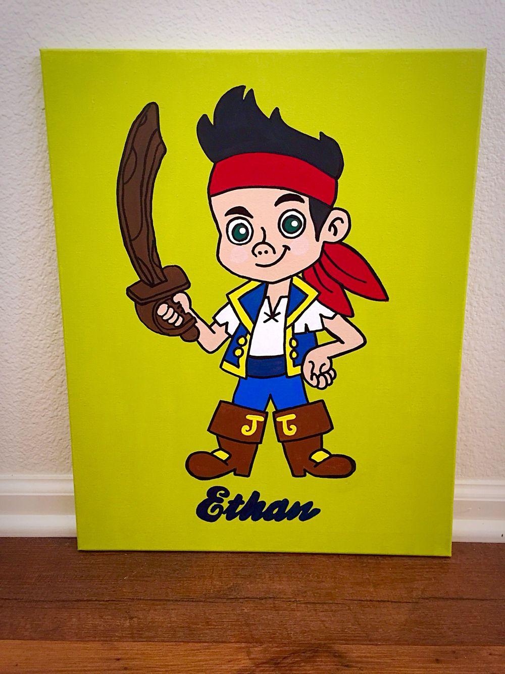 jake & the neverland pirates | Drawings and canvas | Pinterest ...