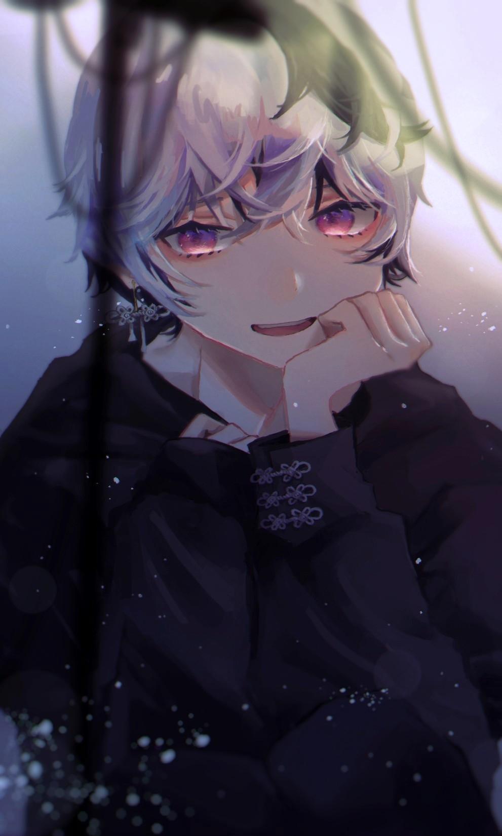 V Flower 2428898 Fullsize Image 991x1650 Zerochan In 2020 Vocaloid Cute Anime Guys Anime Images