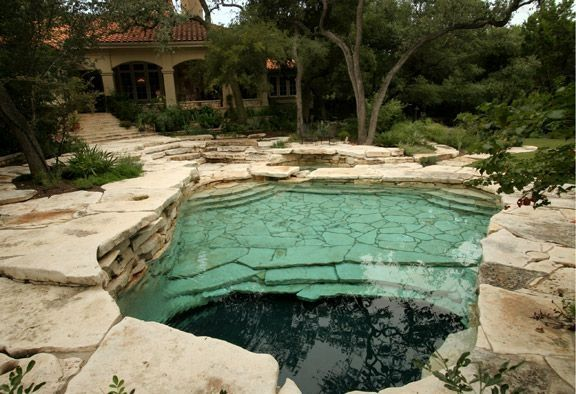 Naturalistic Swimming Hole Sitio Design Small Pool Design Backyard Pool Swimming Pools