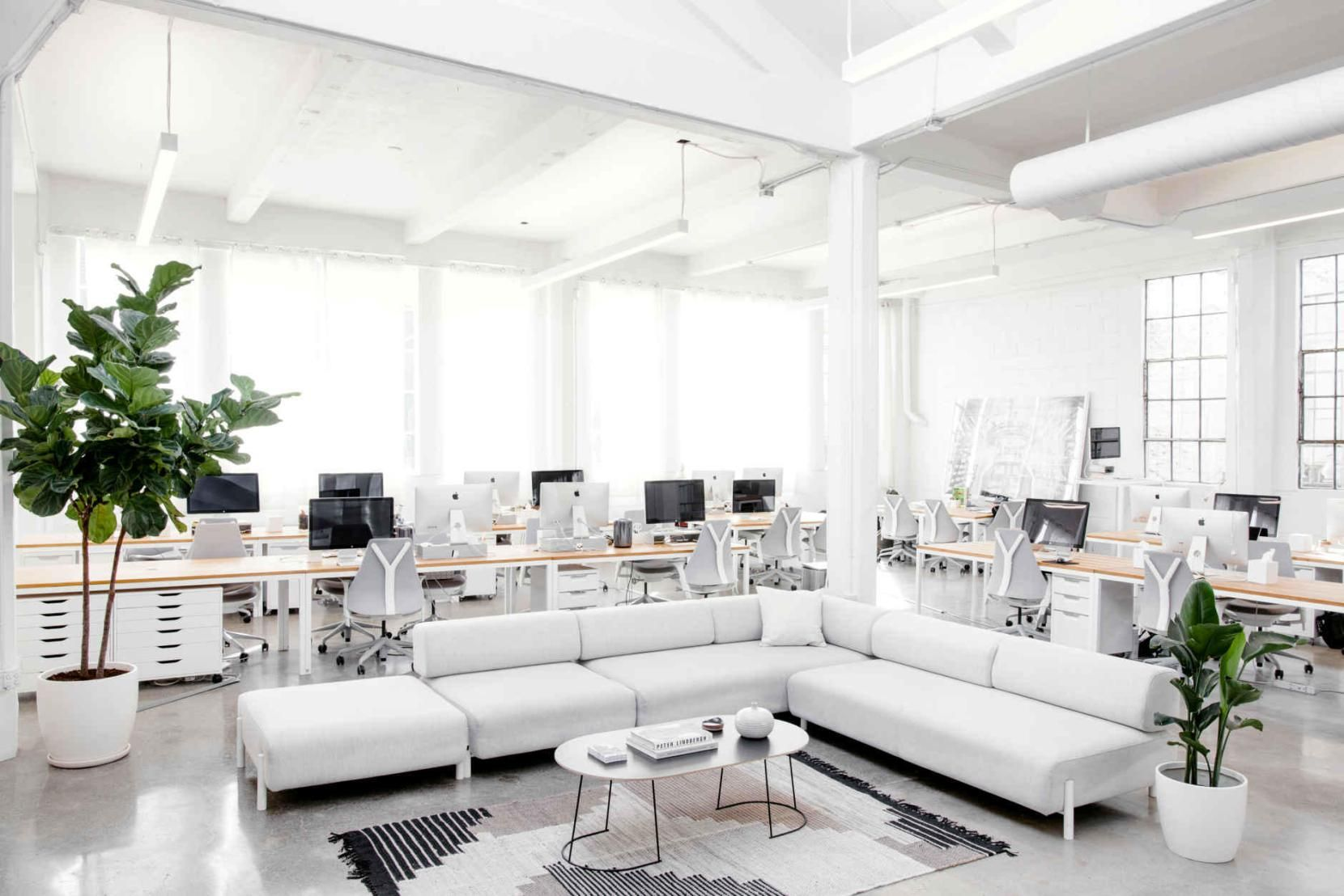 Het Nieuwe Kantoor : Het nieuwe kantoor van everlane is nóg perfecter se ma project