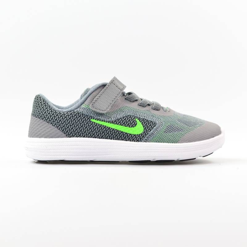 555dcaf21fab NIKE Boys Toddler Infant Revolution Sneakers Tennis Shoes Grey Green 9C  819415  Nike  Athletic
