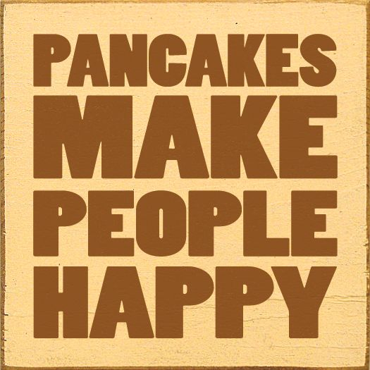 ABSolutely!  Pin if #ABS #Pancakes make you HAPPY! Click the image to buy!