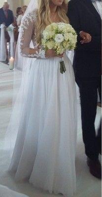 Suknia Slubna Muslin Siatka Transparentna Koronka Bridesmaid Wedding Dresses Bridesmaid Dresses