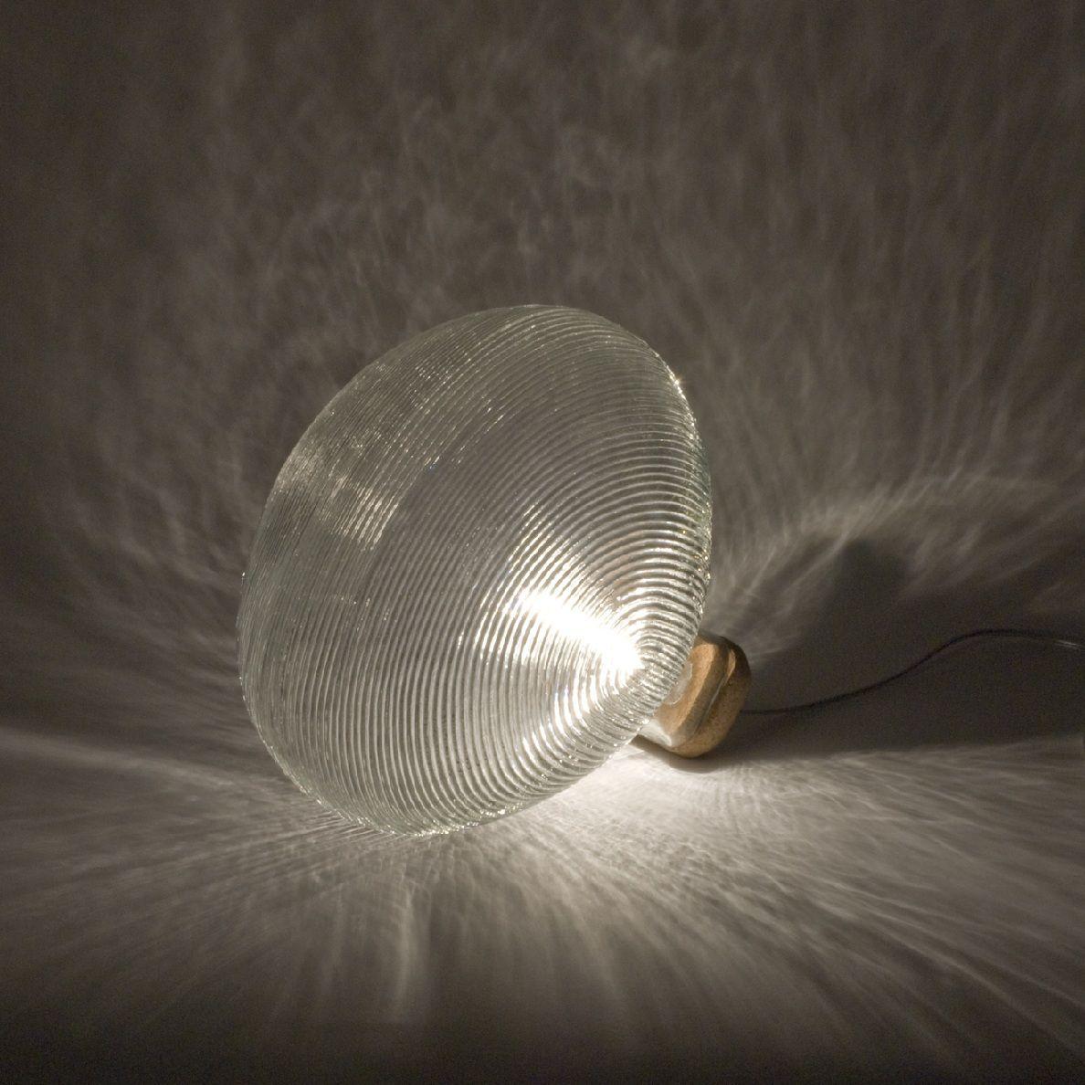 Lampe  poser Verre Clear ˜30cm TIDELIGHT