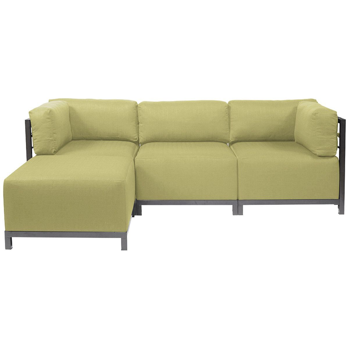 Howard Elliott Sterling Axis 4pc Sectional with Titanium Frame