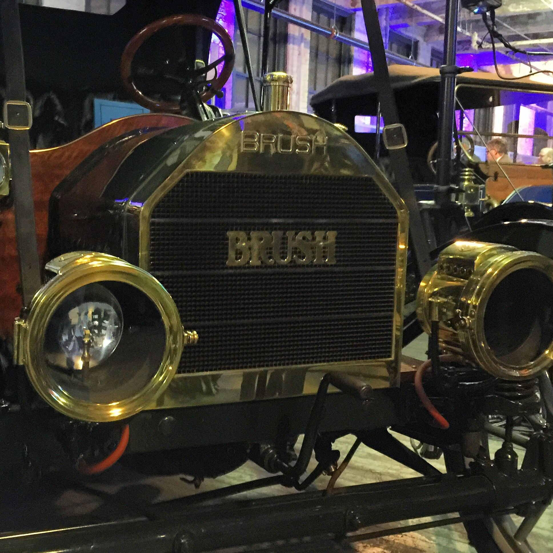 Beautiful vintage car at Ford Piquette Plant FordNAIAS