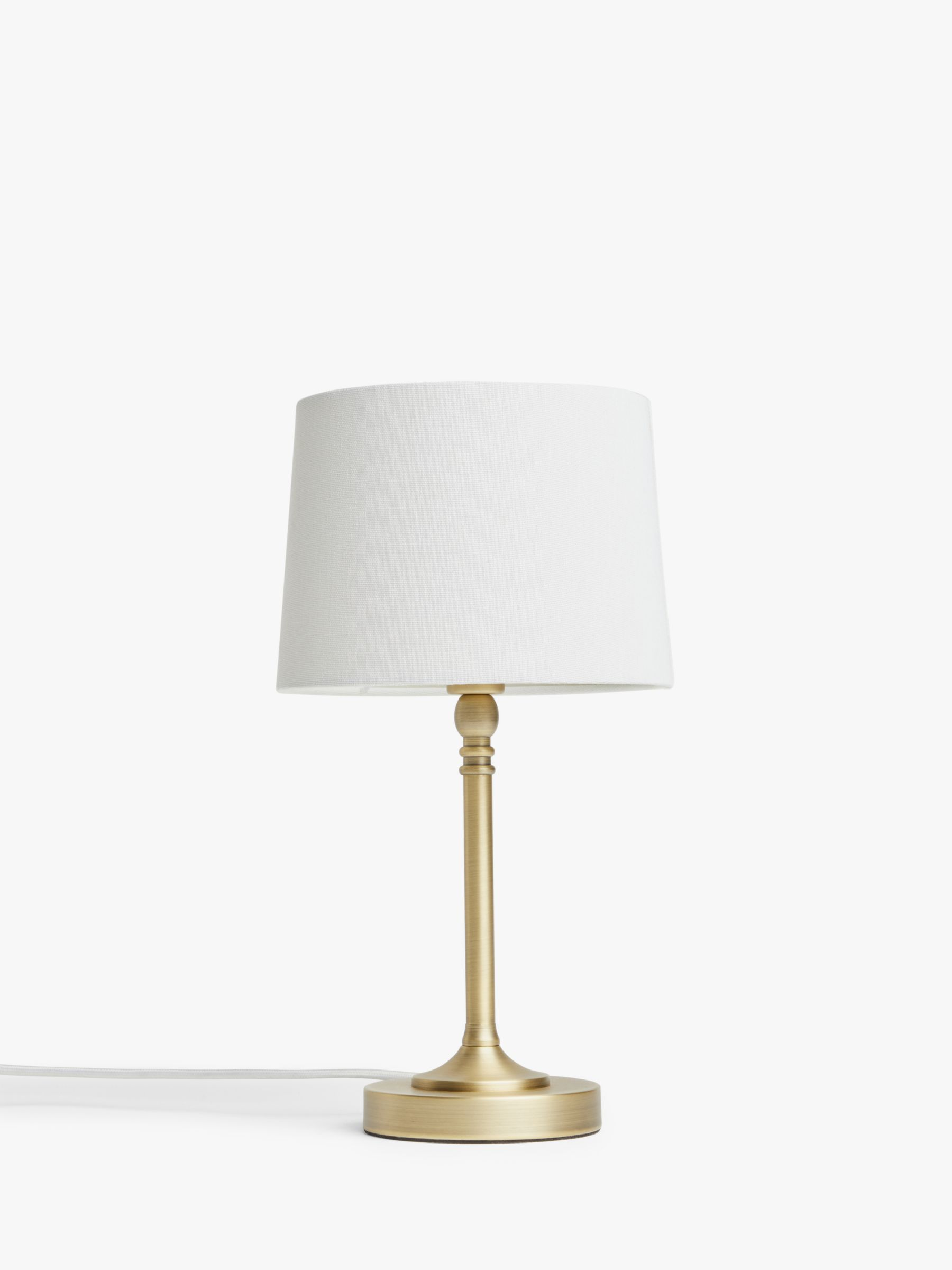 John Lewis Partners Isabel Touch Table Lamp Touch Table Lamps Table Lamp Traditional Lamps