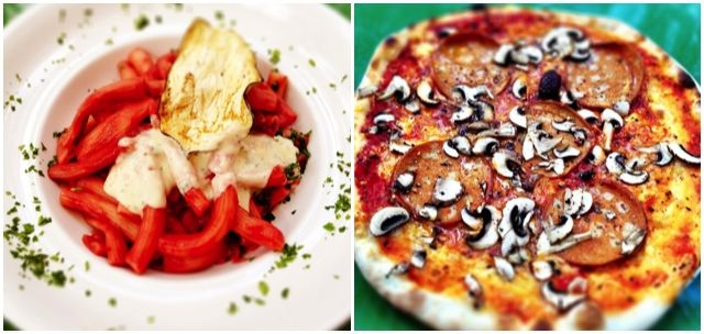 Vegane Pizza und Pasta in Berlin: Trattoria Ponte Verde ...